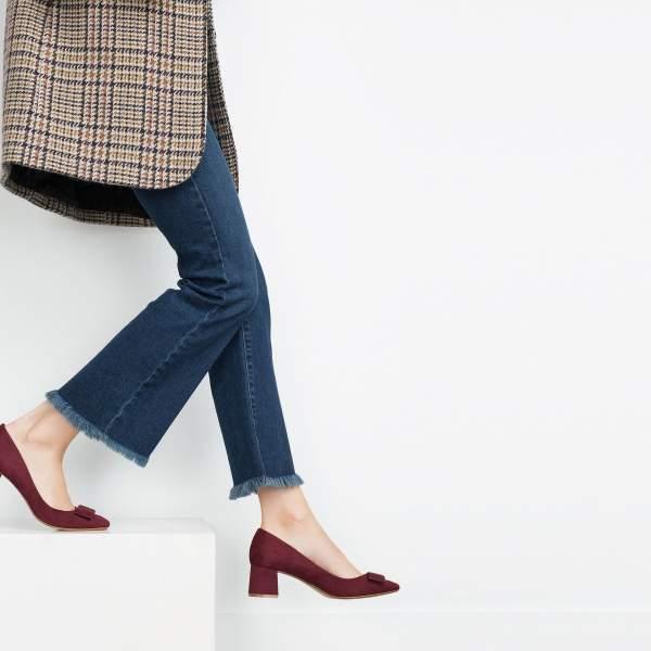 Invierno Temporada Zapatos Mujer Para 2016 2015 Otoño Calzado Zara tnPSqX