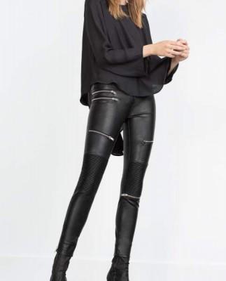 Zara-pantalones-biker-polipiel-negros-