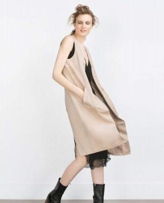 Zara.chaleco-largo-abertura-espalda-rosa-nude-