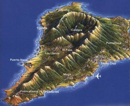 La Palma - La Palma.- Consejería Obras Públicas saca a licitación mejora de la carretera entre Tijarafe y La Punta con una inversión de 60 millones