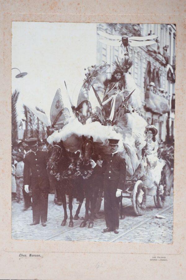 Carnaval Antiguo Las Palmas gran canaria 599x900 - Gran Canaria.- 'Las cabras y los machos de la Aldea', entre las tradiciones del Carnaval que el Cabildo transmitirá a escolares