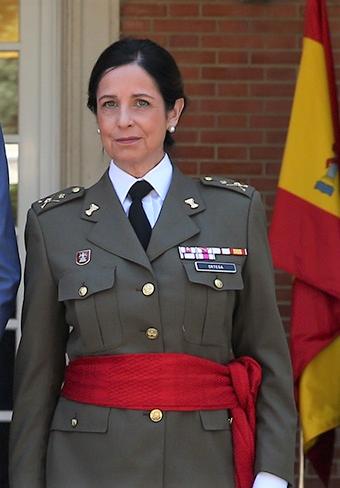 General Patricia Ortega - España.- El papel de la mujer en las Fuerzas Armadas, un modelo a seguir la General Patricia Ortega