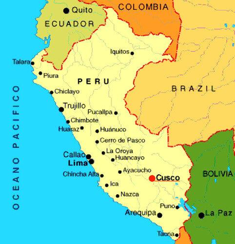 Mapa Peru e1626286264486 - Perú entre el caos social y la debacle productiva por estado de Emergencia