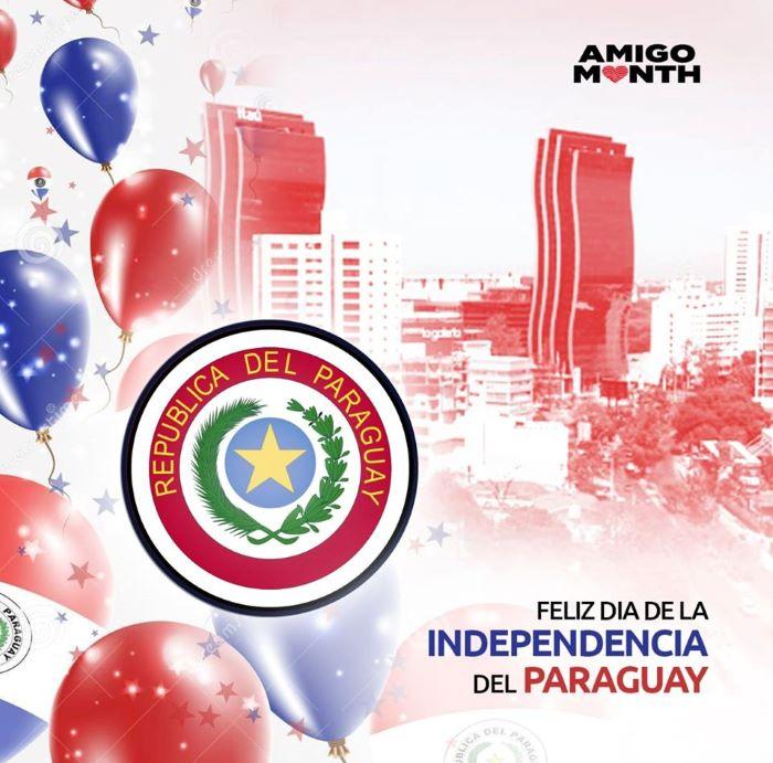 AMIGO MONTH PARAGUAY 2 - Cada 15 de mayo Paraguay celebra el día de la Independencia y de la Madre