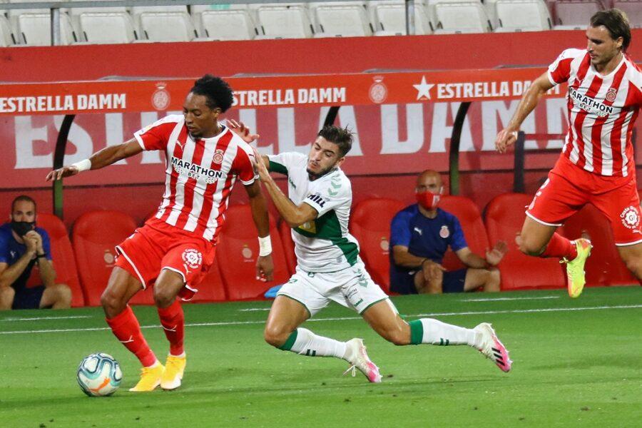 Girona 0 Elche1 13 900x600 - Girona Fc 0 - Elche 1 : El Elche asciende en Montilivi con gol último minuto ( con Galería de Foto )