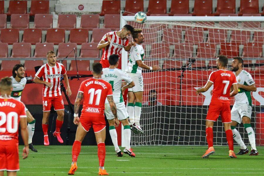 Girona 0 Elche1 14 900x600 - Girona Fc 0 - Elche 1 : El Elche asciende en Montilivi con gol último minuto ( con Galería de Foto )