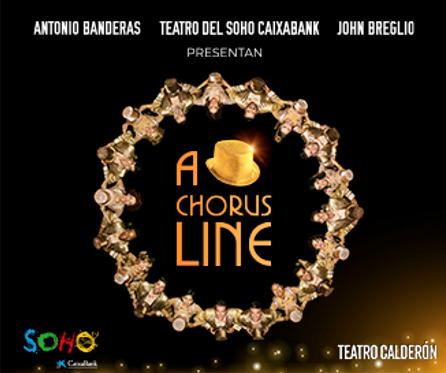 A Chorus Line - Madrid.- Antonio Banderas presenta A Chorus Line en el Teatro Calderón