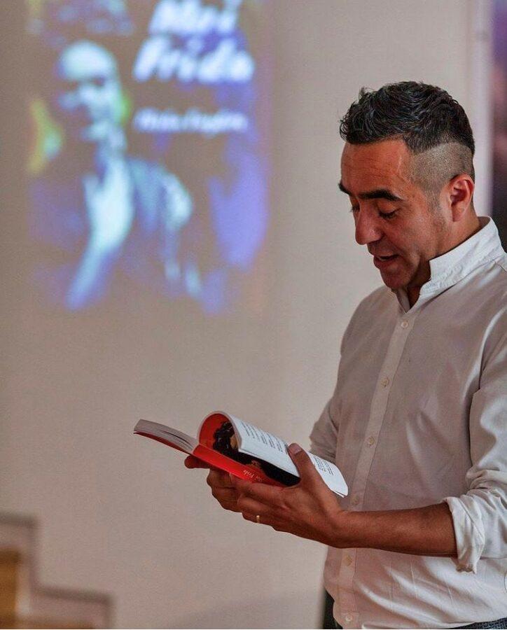 """Miguel AVaylon Misha 724x900 - Gran Canaria.- Presentación libro """"Moi Frida de Miguel A. Vaylón """"Misha"""""""
